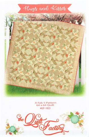 HUGS AND KISSES - Quilt Pattern QF-1823 By The Quilt Factory