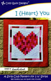 I {HEART} YOU - Cozy Quilt Designs Pattern