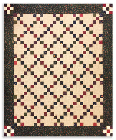 Jordan Fabrics VIDEO BUNDLE Moda Civil War Quilt - Irish Chain - Kansas Troubles