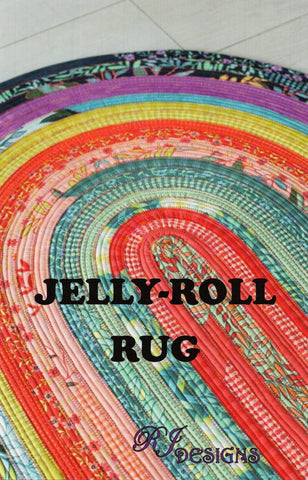 JELLY ROLL RUG - RJ Designs Pattern -