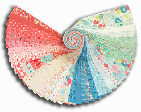 "Moda 40 Piece Pre-Cut 2 1/2"" Strips Jelly Roll - Gypsy Soul"