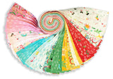 "Moda 40 Piece Pre-Cut 2 1/2"" Strips Jelly Roll - Best Friends Forever"