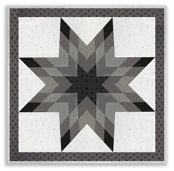 Andover Pre Cut Lone Star Jelly Roll Quilt Kit Tattooed
