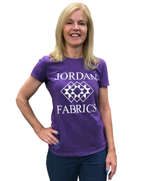 Jordan Fabrics T-Shirt - Purple