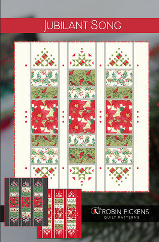 JUBILANT SONG - Robin Pickens Quilt Pattern