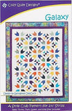 Cozy Quilt Designs GALAXY Pattern for 2 1/2 inch Strips