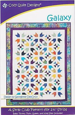 Cozy Quilt Designs Pattern - GALAXY