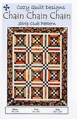 Cozy Quilt Designs Pattern - CHAIN CHAIN CHAIN