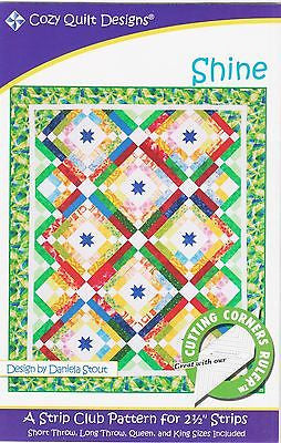 Cozy Quilt Designs Pattern - SHINE