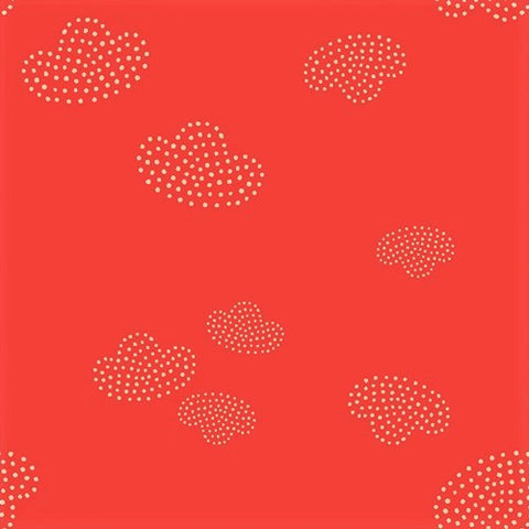Art Gallery Fabrics Kushukuru KUS 23707 Flame Amazulu By The Yard