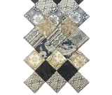 Kaufman Metallic Pre-Cut Jagged Edge Table Runner Kit - La Scala