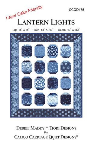 LANTERN LIGHTS - Calico Carriage Quilt Designs Pattern CCQD175 DIGITAL DOWNLOAD