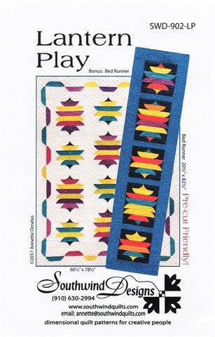 LANTERN PLAY - Quilt Pattern By Southwind Designs 902-LP