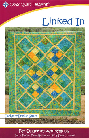 LINKED IN - Cozy Quilt Designs Pattern