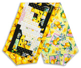 Kanvas Pre-Cut Log Cabin Table Runner Kit - Lemon Fresh