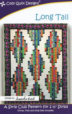 LONG TALL - Cozy Quilt Designs Pattern