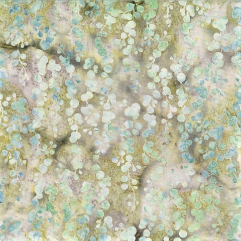 Hoffman McKenna Ryan Oasis Batiks MR13 227 Sprout String of Pearls By The Yard