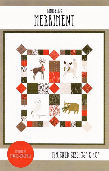 MERRIMENT - Gingiber's Quilt Pattern