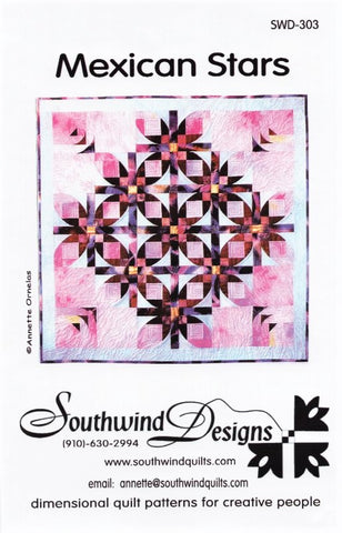 MEXICAN STAR - Quilt Pattern By Southwind Designs SWD-303