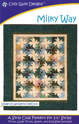 MILKY WAY - Cozy Quilt Designs Pattern