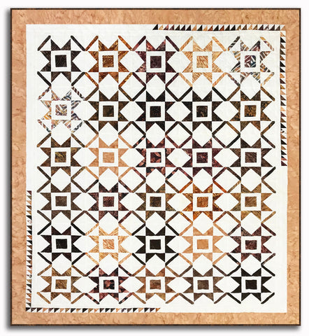 New Year's Star VIDEO BUNDLE Quilt Kit - Includes Pre-Cut Batik Layer Cake