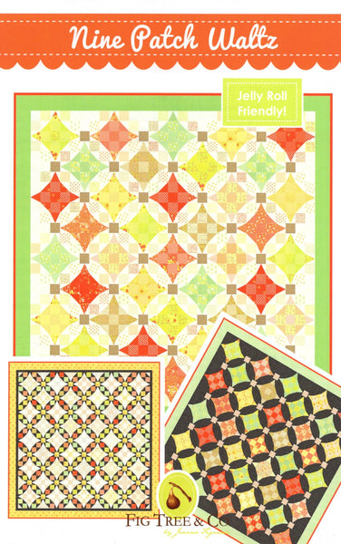 NINE PATCH WALTZ - Fig Tree & Co. Pattern