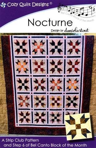 Cozy Quilt Designs Pattern - NOCTURNE