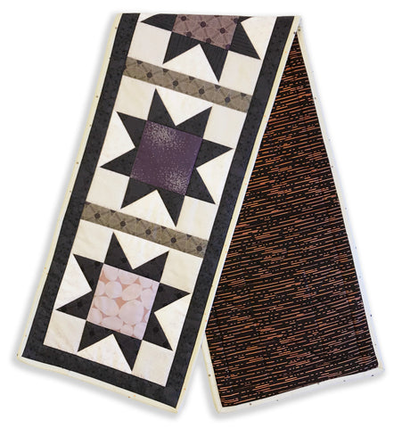 Andover Pre-Cut North Star Table Runner Kit - Tattooed North