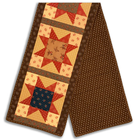 Moda Pre-Cut North Star Table Runner Kit - Hickory Road