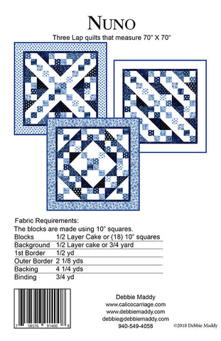 NUNO - Calico Carriage Quilt Designs Pattern
