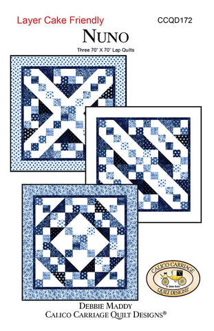 NUNO - Calico Carriage Quilt Designs Pattern CCQD172 DIGITAL DOWNLOAD