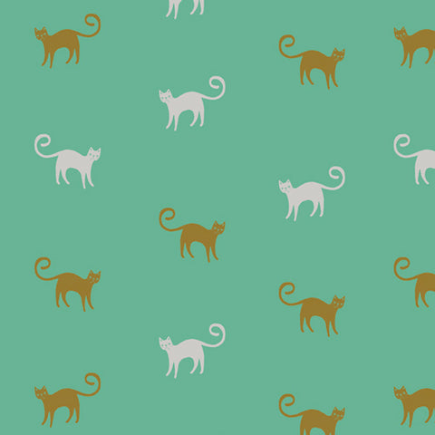 Art Gallery Fabrics Oh Meow OHM 33447 Feline Good By The Yard
