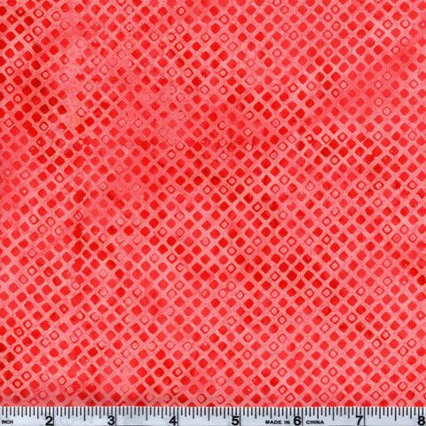 Hoffman Bali Batik ORG 4068 Smoothie Diamond Grid By The Yard