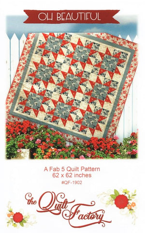 OH BEAUTIFUL - Quilt Pattern QF-1902 By The Quilt Factory