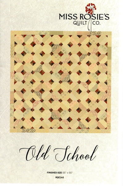 OLD SCHOOL - Miss Rosie's Quilt Co. Quilt Pattern
