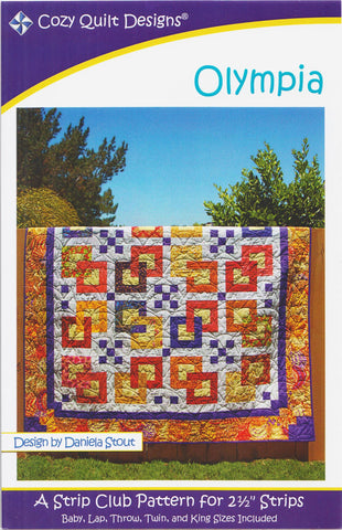 Cozy Quilt Designs Pattern -  OLYMPIA