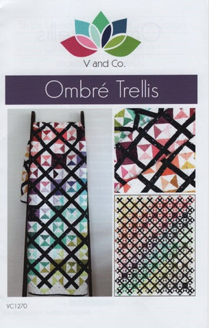 OMBRE TRELLIS - V and Co. Quilt Pattern VC1270