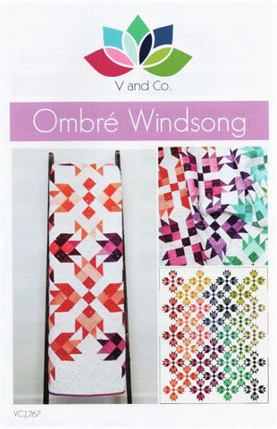 OMBRE WINDSONG - V and Co. Quilt Pattern VC1267