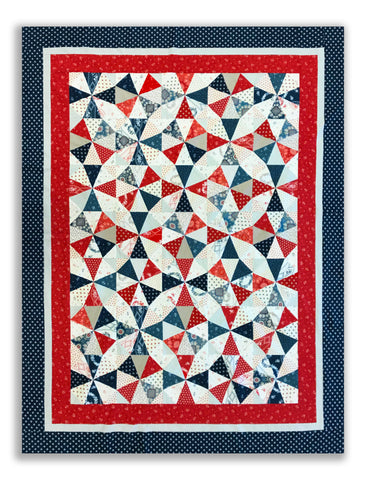 Jordan PRE-CUT Roundabout Quilt Kit - Borders Included! - Portsmouth