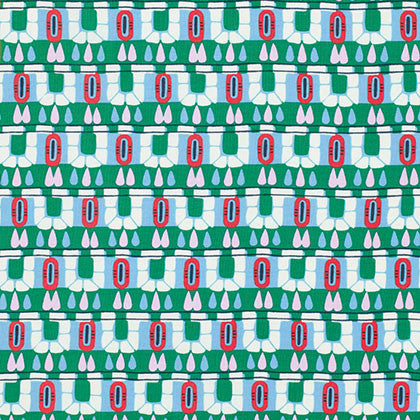 Amy Butler Cameo Hopscotch PWAB095 Pine Multi By The Yard