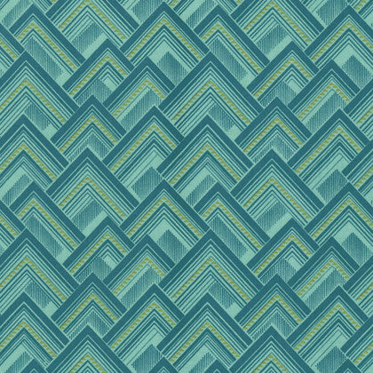 Free Spirit Amy Butler Splendor Mighty Corners PWAB170 Sage By The Yard