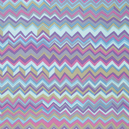 Free Spirit Kaffe Fassett PWBM043 Grey Zig Zag By The Yard