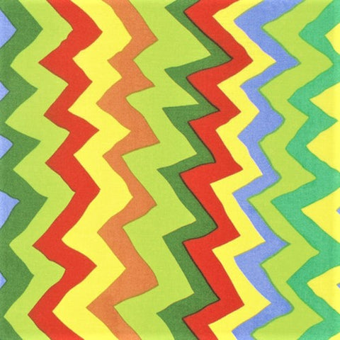 Free Spirit Kaffe Fassett Collective PWBM062 Bright Sound Waves By The Yard