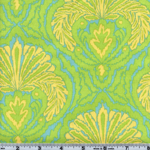Free Spirit Dena Designs Tangier Ikat PWDF163 Yellow By The Yard
