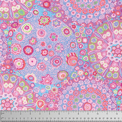 Free Spirit Kaffe Fassett PWGP092 Pink Millefiore By The Yard
