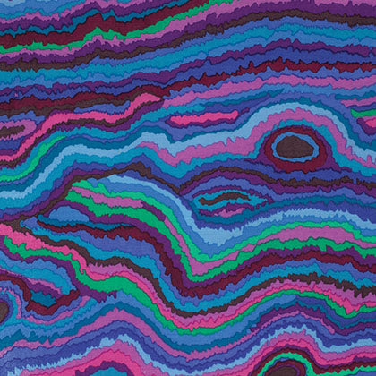 Free Spirit Kaffe Fassett PWGP131 Blue Jupiter By The Yard