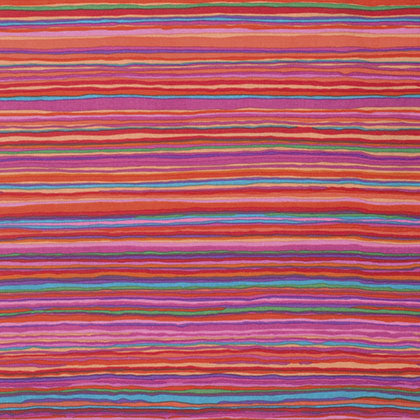 Free Spirit Kaffe Fassett PWGP150  Red Strata Lines By The Yard