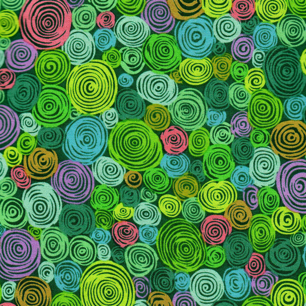 Free Spirit Kaffe Fassett PWGP158 Green Rolled Paper By The Yard