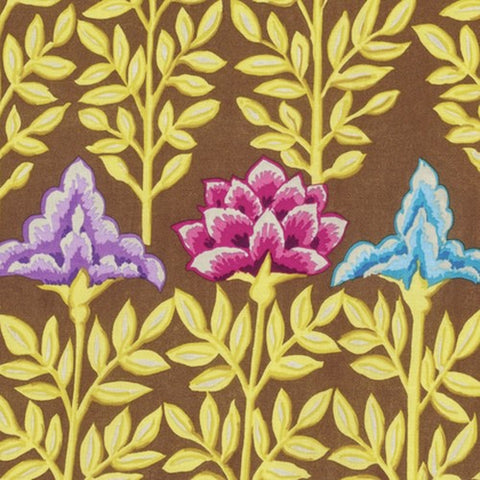 Free Spirit Kaffe Fassett PWGP161 Brown Mughal By The Yard
