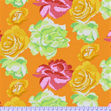 Free Spirit Kaffe Fassett Collective PWGP164 GoldX Rose Clouds By The Yard